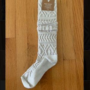 American Eagle   White/cream boot socks